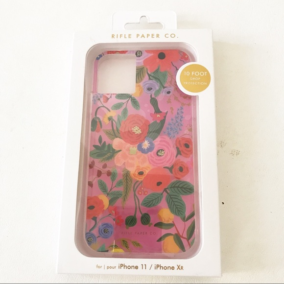 Rifle Paper Co Floral iPhone Case Drop Protection